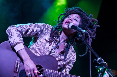 Valerie June performs at the Great Hall in Toronto on February 9, 2017. (Photo: Orest Dorosh/Aesthetic Magazine)
