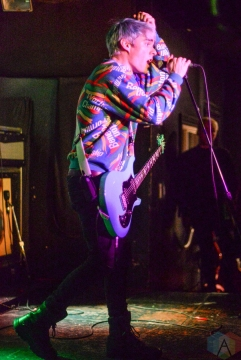 Waterparks performs at Hard Luck Bar in Toronto on February 26, 2017. (Photo: Chloe Thomson/Aesthetic Magazine)