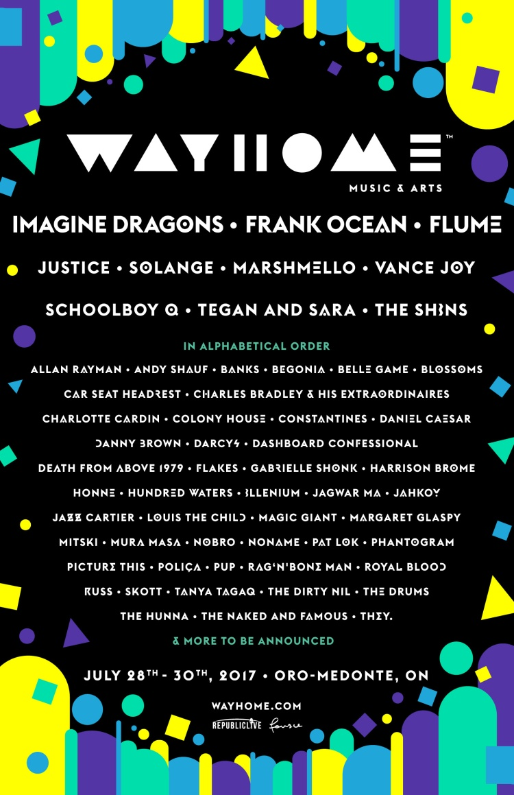 wayhome 2017 lineup poster