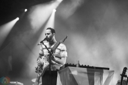 Young The Giant performs at the Palace Theatre Albany in Albany, New York on February 23, 2017