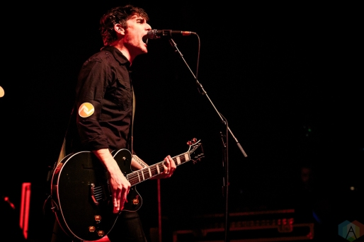 At The Drive-In performs at Rebel in Toronto on March 29, 2017. (Photo: David McDonald/Aesthetic Magazine)