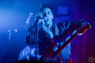 Bad Suns performs at Velvet Underground in Toronto on March 8, 2017. (Photo: Joanna Glezakos/Aesthetic Magazine)