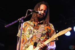 Black Joe Lewis performs at Lee's Palace in Toronto on February 28, 2017. (Photo: Brad Goldstein/Aesthetic Magazine)