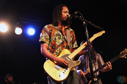 Black Joe Lewis performs at Lee's Palace in Toronto on February 28, 2017. (Photo: Brad Goldstein/Aesthetic Magazine)