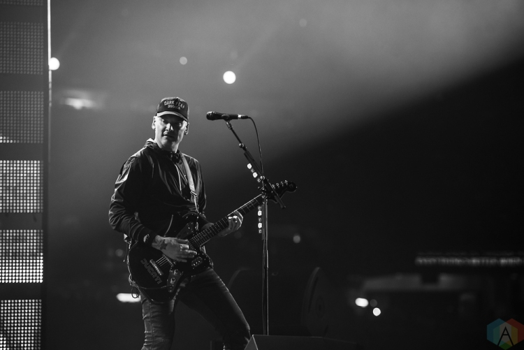 Blink-182 performs at NRG Park in Houston on March 23, 2017 during the Houston Rodeo. (Photo: Joey Diaz/Aesthetic Magazine)
