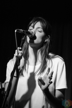 Charlotte Cardin performs at the Drake Hotel in Toronto on March 7, 2017. (Photo: Morgan Hotston/Aesthetic Magazine)