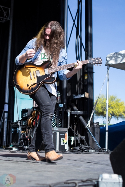 Goodbye June performs at the Kino Veterans Memorial Stadium in Tucson, AZ on March 26, 2017 during KFMA Day. (Photo: Meghan Lee/Aesthetic Magazine)
