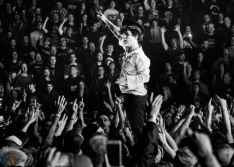 Green Day performs at FirstOntario Centre in Hamilton on March 20, 2017. (Photo: Lisa Mark/Aesthetic Magazine)