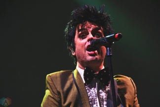 Green Day performs at FirstOntario Centre in Hamilton on March 20, 2017. (Photo: Adam Harrison/Aesthetic Magazine)