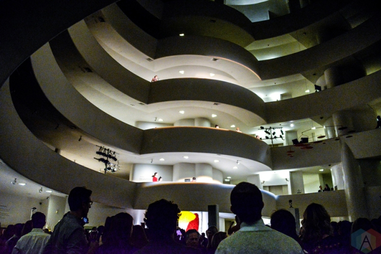 The 2017 Guggenheim Young Collectors Party at the Guggenheim Museum in New York City on March 9, 2017. (Photo: Alx Bear/Aesthetic Magazine)