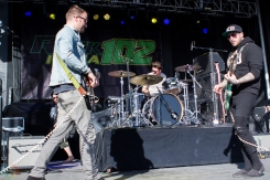 Highly Suspect performs at the Kino Veterans Memorial Stadium in Tucson, AZ on March 26, 2017 during KFMA Day. (Photo: Meghan Lee/Aesthetic Magazine)