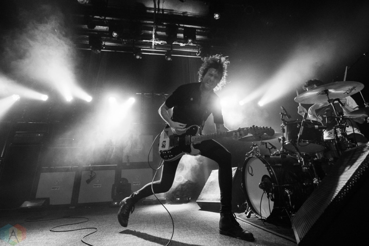 Japandroids perform at the Fillmore in San Francisco on March 14, 2017. (Photo: Steve Carlson/Aesthetic Magazine)