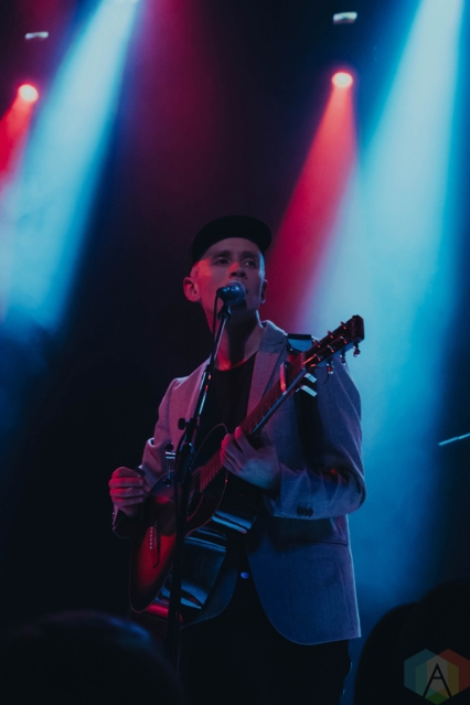 Jens Lekman performs at Metro Chicago in Chicago on March 9, 2017. (Photo: Sara Mohr/Aesthetic Magazine)