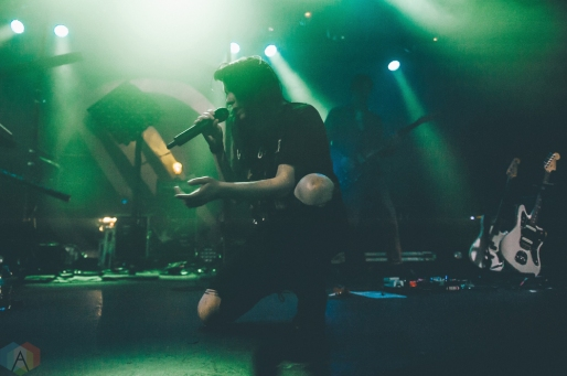 K. Flay performs at the Commodore Ballroom in Vancouver on March 25, 2017. (Photo: Timothy Nguyen/Aesthetic Magazine)