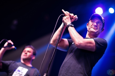 Lagwagon performs at Musink Festival at the OC Fair and Events Center in Costa Mesa, California on March 17, 2017. (Photo: Amanda Witt/Aesthetic Magazine)