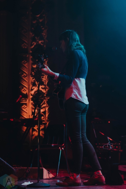 Lisa/Liza performs at Metro Chicago in Chicago on March 9, 2017. (Photo: Sara Mohr/Aesthetic Magazine)