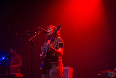 Little Scream performs at the Danforth Music Hall in Toronto on March 16, 2017. (Photo: Lucy Alguire/Aesthetic Magazine)