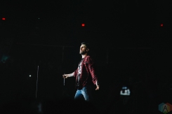 Maroon 5 performs at the FirstOntario Centre in Hamilton on March 1, 2017. (Photo: Stephan Ordonez/Aesthetic Magazine)