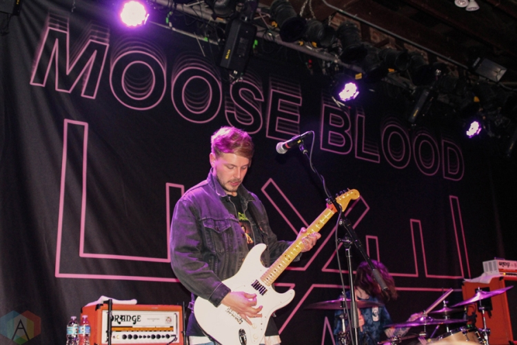 Moose Blood performs at the Social in Orlando, FL on March 4, 2017. (Photo: Jordan Miller/Aesthetic Magazine)