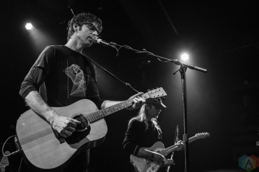 N. Lannon performs at the Crocodile in Seattle on March 3, 2017. (Photo: Kevin Tosh/Aesthetic Magazine)