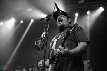 Pennywise performs at Musink Festival at the OC Fair and Events Center in Costa Mesa, California on March 19, 2017. (Photo: Amanda Witt/Aesthetic Magazine)