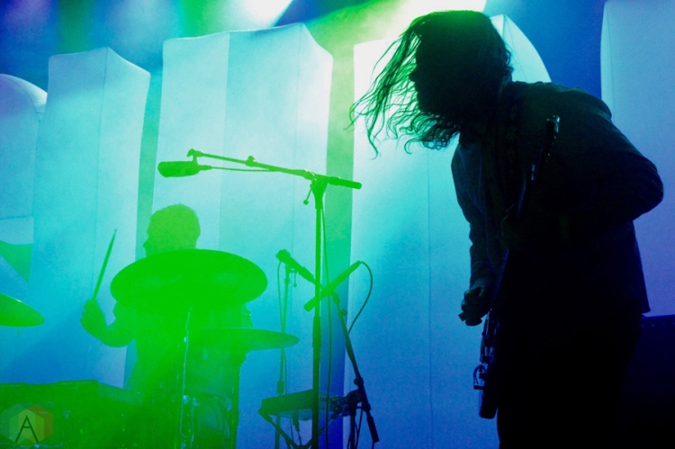 Suuns performs at the Mod Club in Toronto on March 4, 2017. (Photo: Justin Roth/Aesthetic Magazine)