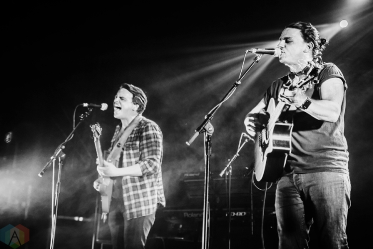 The Dunwells perform at O2 Ritz Manchester in Manchester, UK on March 4, 2017. (Photo: Priti Shikotra/Aesthetic Magazine)