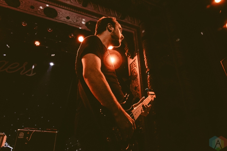 The Menzingers perform at Metro Chicago in Chicago, IL on March 3, 2017. (Photo: Kris Cortes/Aesthetic Magazine)
