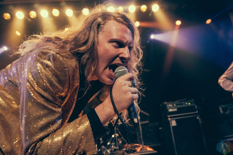 The Orwells perform at Metro Chicago in Chicago, IL on March 16, 2017. (Photo: Kris Cortes/Aesthetic Magazine)