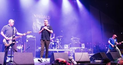 The Vandals perform at Musink Festival at the OC Fair and Events Center in Costa Mesa, California on March 17, 2017. (Photo: Amanda Witt/Aesthetic Magazine)