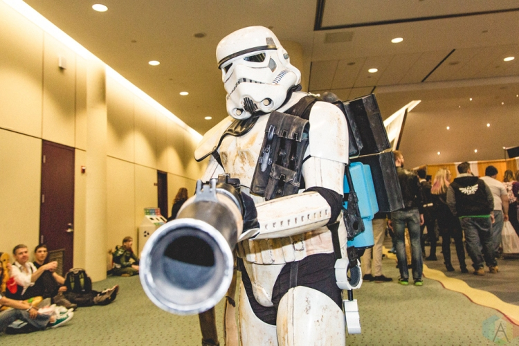 Toronto ComiCon 2017 at the Metro Toronto Convention Centre in Toronto. (Photo: Rick Clifford/Aesthetic Magazine)