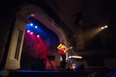 Tristen performs at the Great Hall in Toronto on March 3, 2017. (Photo: Morgan Hotston/Aesthetic Magazine)