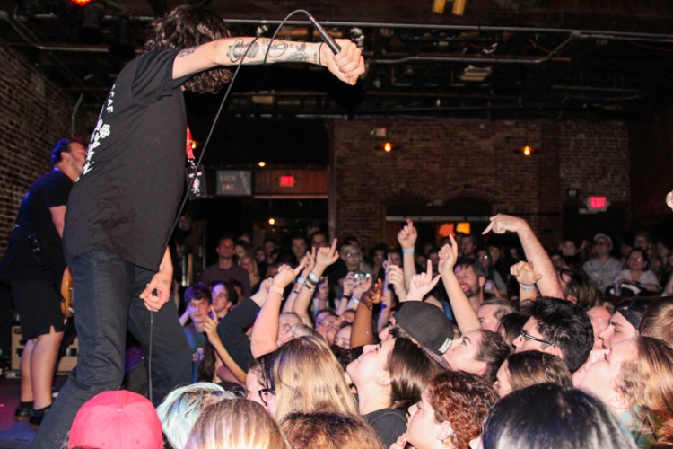 Trophy Eyes performs at the Social in Orlando, FL on March 4, 2017. (Photo: Jordan Miller/Aesthetic Magazine)
