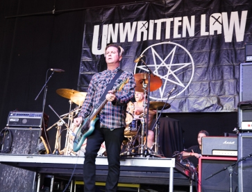 Unwritten Law performs at Musink Festival at the OC Fair and Events Center in Costa Mesa, California on March 19, 2017. (Photo: Amanda Witt/Aesthetic Magazine)
