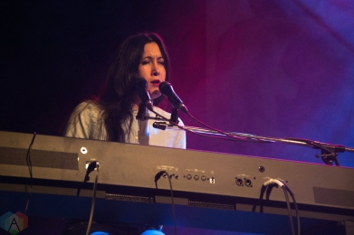 Vanessa Carlton performs at the Great Hall in Toronto on March 3, 2017. (Photo: Morgan Hotston/Aesthetic Magazine)