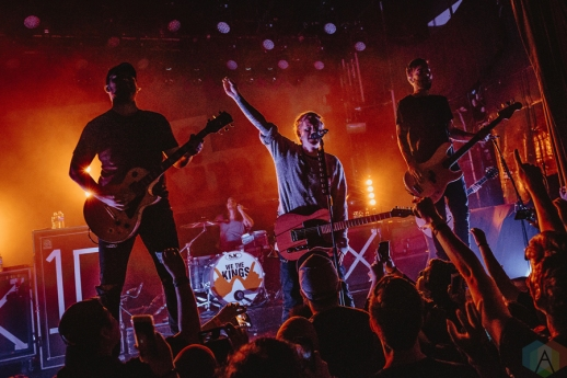 We The Kings performs at the Mod Club in Toronto on February 28, 2017. (Photo: Francesca Ludikar/Aesthetic Magazine)
