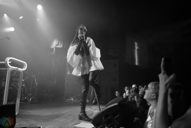 Allie X performs at the Mod Club in Toronto on April 22, 2017. (Photo: Morgan Hotston/Aesthetic Magazine)