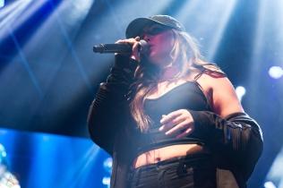 Alyssa Reid performs at iHeartRadio Fest at Rebel in Toronto on April 21, 2017. (Photo: Brendan Albert/Aesthetic Magazine)
