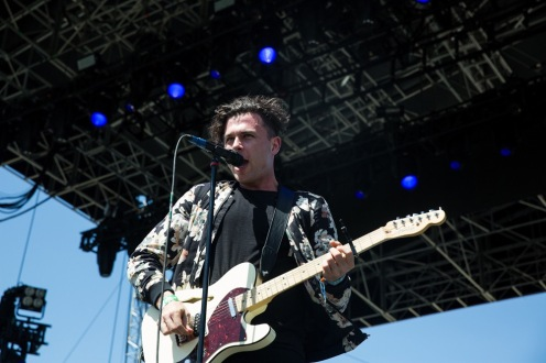 Arkells perform at the Coachella Music Festival in Indio, California on April 15, 2017. (Photo: Greg Noire)