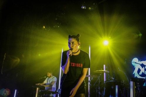 Bishop Briggs performs at the El Rey Theatre in Los Angeles on April 13, 2017. (Photo: Alx Bear/Aesthetic Magazine)