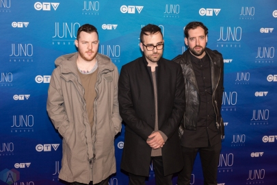 Blitz Berlin attends the 2017 JUNO Awards at the Canadian Tire Centre in Ottawa on April 2, 2017. (Photo: Brendan Albert/Aesthetic Magazine)