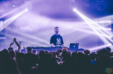 Branchez performs at Snowbombing Canada at Sun Peaks Resort in Sun Peaks, British Columbia on April 8, 2017. (Photo: Timothy Nguyen/Aesthetic Magazine)