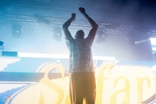 Bro Safari performs at the Phoenix Lights Festival at the Rawhide Event Center in Phoenix, AZ on April 8, 2017. (Photo: Meghan Lee/Aesthetic Magazine)