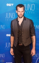 Chad Brownlee attends the 2017 JUNO Awards at the Canadian Tire Centre in Ottawa on April 2, 2017. (Photo: Brendan Albert/Aesthetic Magazine)