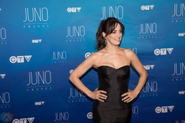 Chantal Kreviazuk attends the 2017 JUNO Awards at the Canadian Tire Centre in Ottawa on April 2, 2017. (Photo: Brendan Albert/Aesthetic Magazine)
