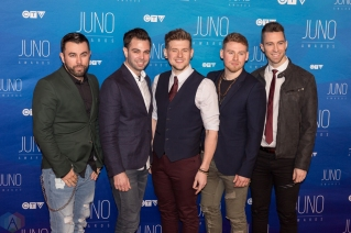 Cold Creek Country attends the 2017 JUNO Awards at the Canadian Tire Centre in Ottawa on April 2, 2017. (Photo: Brendan Albert/Aesthetic Magazine)
