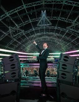 Dillon Francis performs at the Coachella Music Festival in Indio, California on April 14, 2017. (Photo: Erik Voake)