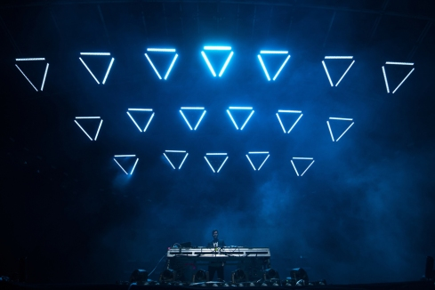 Dillon Francis performs at the Coachella Music Festival in Indio, California on April 14, 2017. (Photo: Roger Ho)