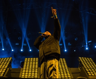 DJ Khaled performs at the Coachella Music Festival in Indio, California on April 16, 2017. (Photo: Greg Noire)
