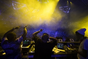 DJ Khaled performs at the Coachella Music Festival in Indio, California on April 16, 2017. (Photo: Julian Bajsel)